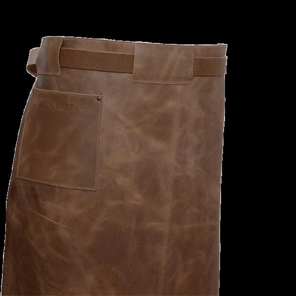 Leder-Vorbinder-Tasche-Detail