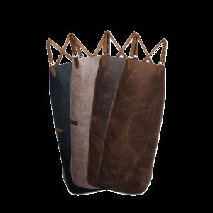 Lederschürze – Latzschürze mit Kreuzträger – medium